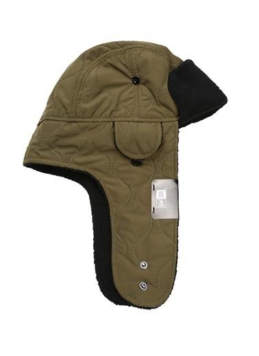New Era New Era Utility  Polar Doku Detaylı Erkek Şapka 101502717 Yeşil